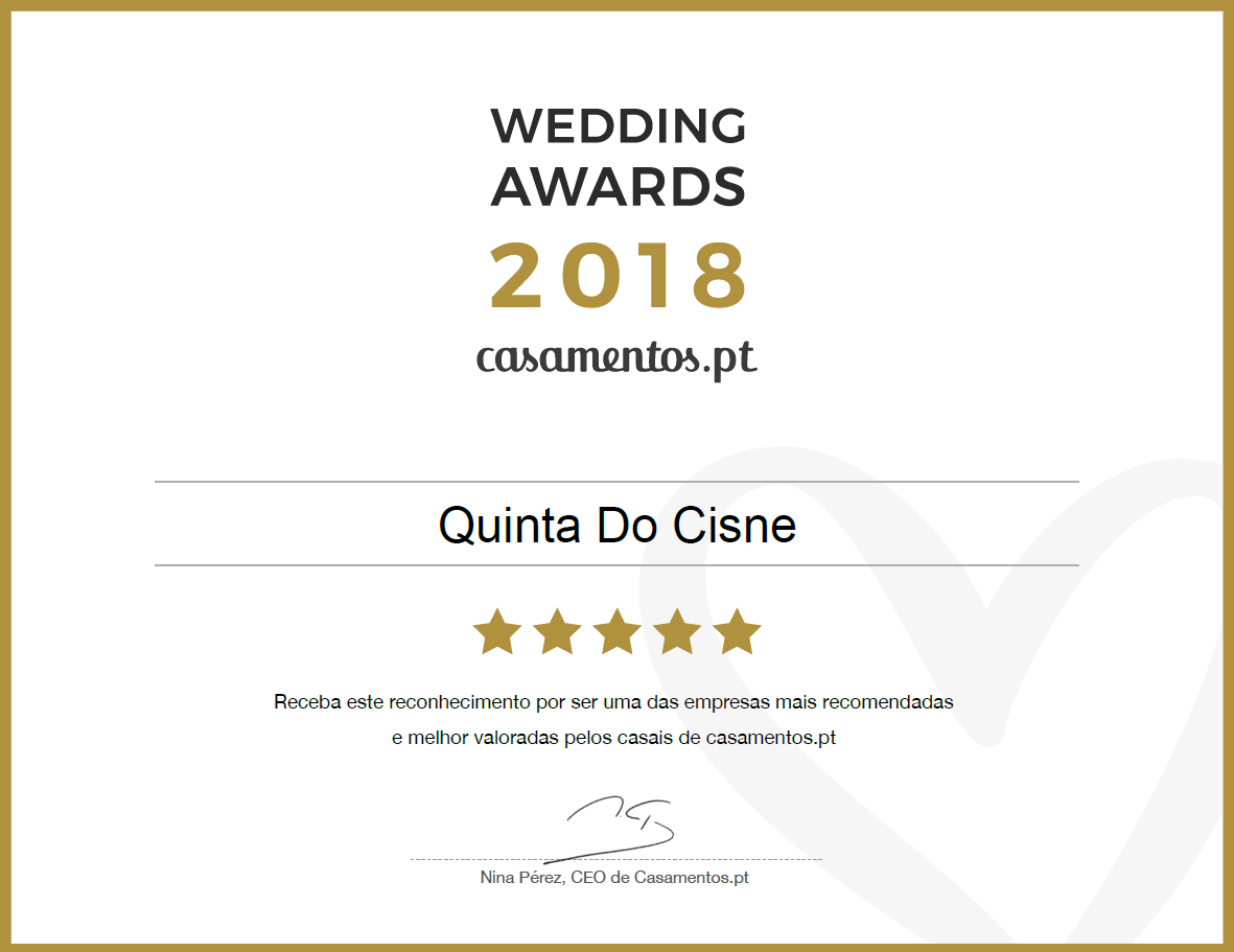 Wedding Awards 2018 Casamentos.pt
