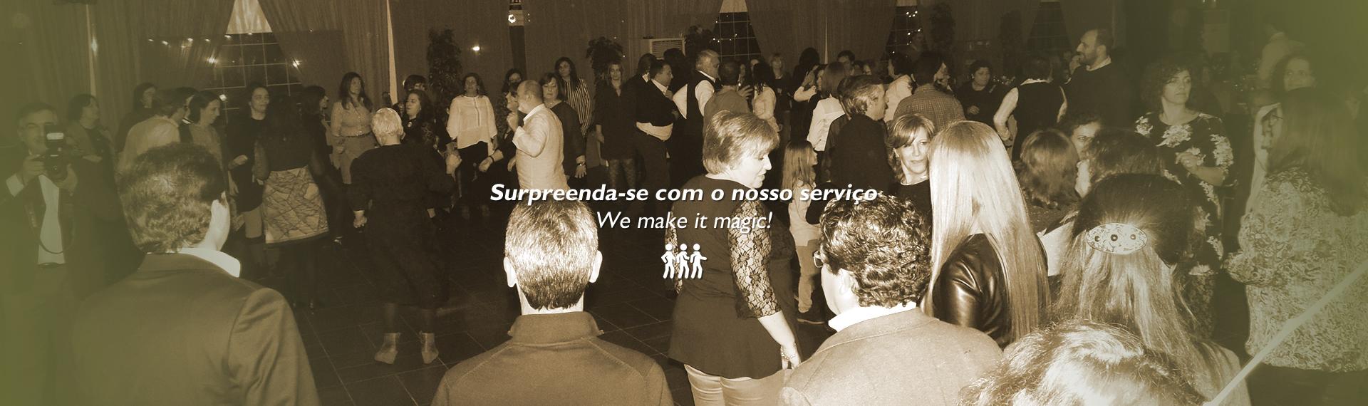 Festas Empresariais na Quinta do Cisne