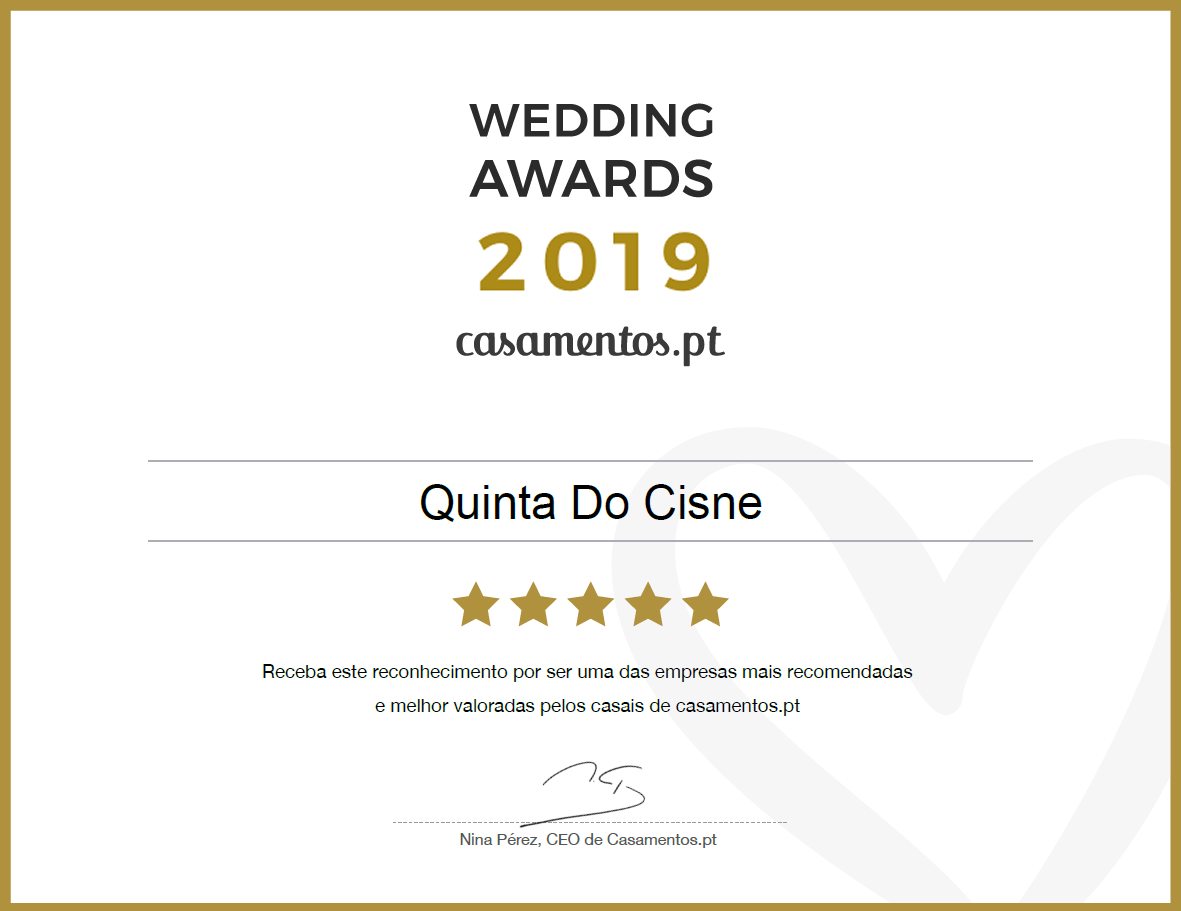 Wedding Awards 2019 Casamentos.pt