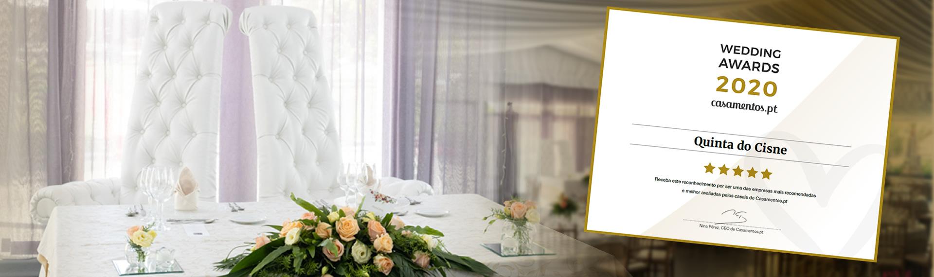 award casamentos 2020