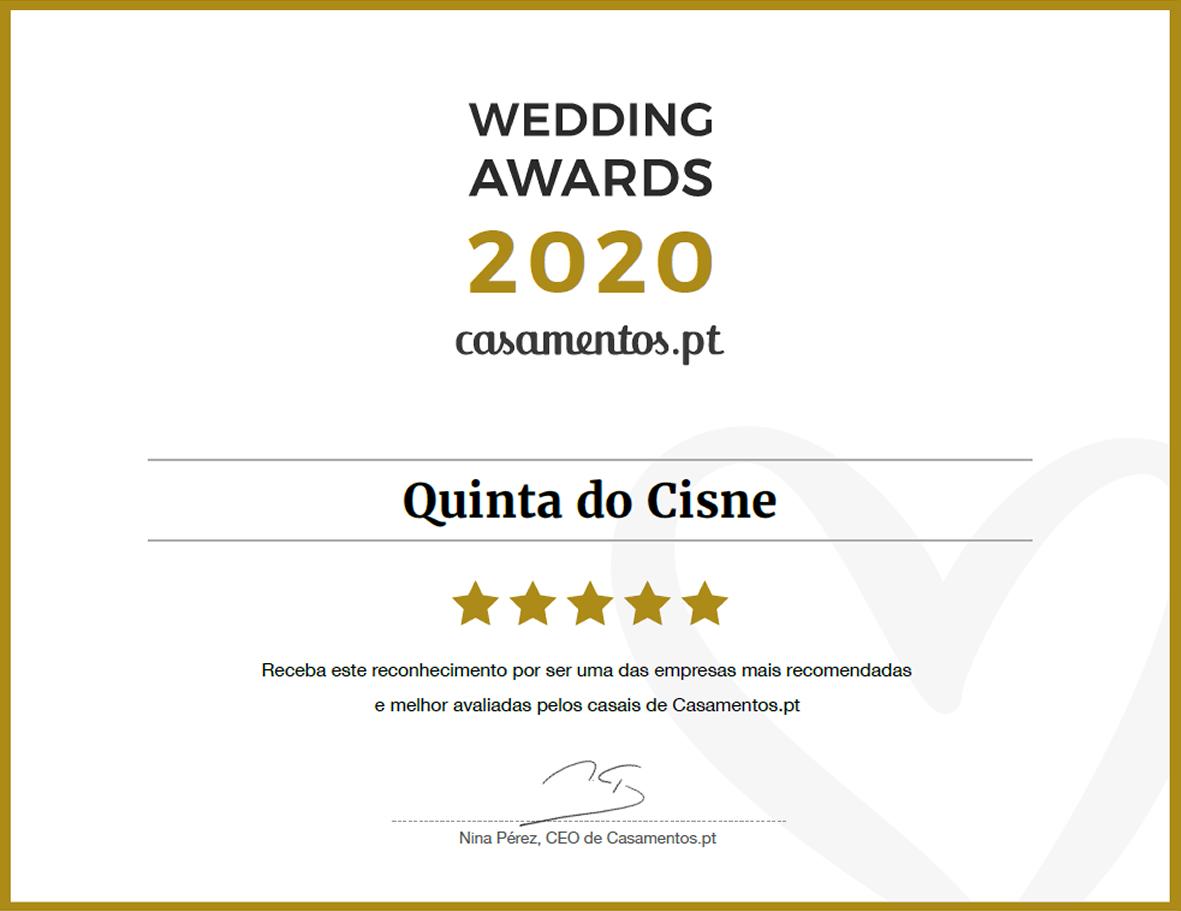 Wedding Awards 2020 Casamentos.pt